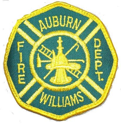 Auburn/Williams Fire Department Badge